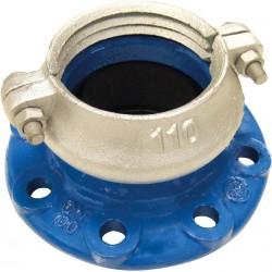 BRIDE LOCK POUR PEHD/PVC,EPDM,GEOMET PN10/16 DN250/250 - ref BRL-250 - lot de 1