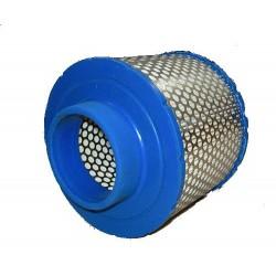 BUSCH 532015 : filtre air comprimé adaptable