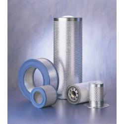 ATLAS COPCO 1615 6366 00 : filtre air comprimé adaptable