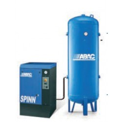SPINN 0710V500 - Compresseur ? vis  SPINN 0710V500 - 7,5 CV - 400 V Tri - 36 m3/h - 10b - Sur base + RV 500P
