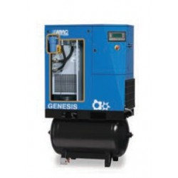 GENESIS 10 08 270 - Compresseur ? vis  GENESIS 10 08 270 - 10 CV - 400 V Tri - 69,2 m3/h - 8b - 270 L