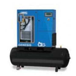 GENESIS 15 10 500 - Compresseur ? vis  GENESIS 15 10 500 - 15 CV - 400 V Tri - 86 m3/h - 10b - 500 L