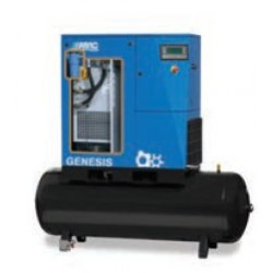 GENESIS 07 10 500 - Compresseur ? vis  GENESIS 07 10 500 - 7,5 CV - 400 V Tri - 40,2 m3/h - 10b - 500 L