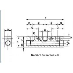 réseau air comprimé prevost raccord connecteur et embout air comprimé prevost
