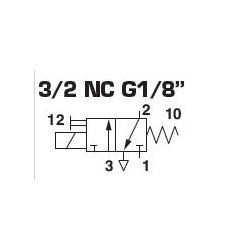 ELECTRO-PILOTE SIMPLE 1/8 - lot de 1