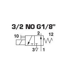 ELECTRO-PILOTE MODULAIRE 1/8 - lot de 1