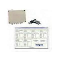 Débitmètre air comprimé MCF / carte d'acquisition + logiciel