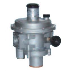 DN 100 Filtre-régulateur gaz 5 bar FRG 2MBZ avec sécurité en cas de surpression