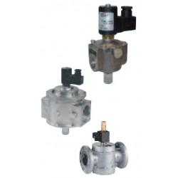 DN 150 Électrovanne à réarmement manuel 500 mbar pour biogaz M14/RM BIOGAZ M16/RM