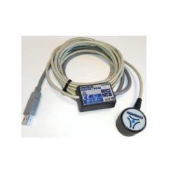 Transmetteur optique pour convertisseur électronique de volume