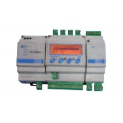 Centrale sur rail DIN pour 2 transmetteurs 4-20 mA / CE 100 R + AL 100 + AL 102 + BA 100 avec batterie de secours / détection