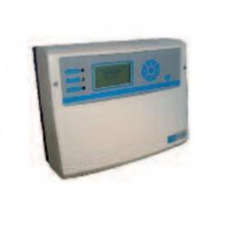 Centrale à microprocesseur pour 4 transmetteurs 4-20 mA / Centrale CE 408 P - 230 V ca / détection gaz industrie