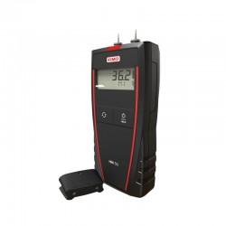 Humidimètre portable à pointes électronique pour matériaux : Bois, Béton, Plâtre et Brique.