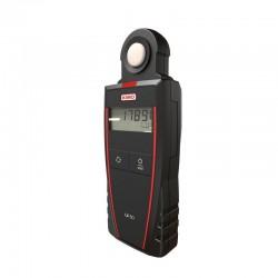 LX50 (0 à 10 000 lux) Luxmètre portable classe C avec capteur intégré, selon la norme NF C 42-710