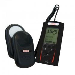 LX100 (0 à 150 000 lux) Luxmètre numérique classe C type LX 100, selon la norme NF C 42-710