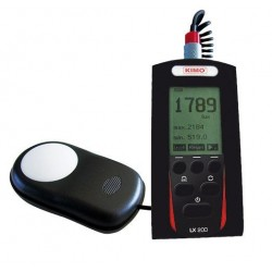 LX 200  (0 à 200 000 lux)  Luxmètre numérique à stockage classe B , selon la norme NF C 42-710