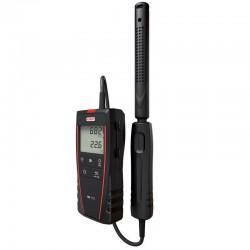 AQ110 CO2-Mètre portable avec sonde CO2 / Température déportée