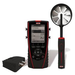 MP110 Thermo-Anémomètre-Manomètre Multi-Sondes portable avec afficheur graphique rétro-éclairé