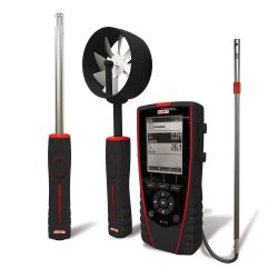VT210 Thermo-Hygro-Anémomètre Multi-Sondes portable avec afficheur graphique rétro-éclairé