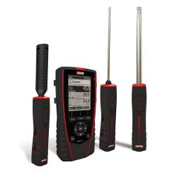 HQ210P Thermo-Hygromètre-Qualité d'Air Multi-Sondes portable avec afficheur graphique rétro-éclairé