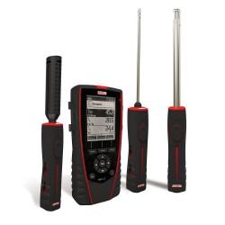 HQ210O Thermo-Hygromètre-Qualité d'Air Multi-Sondes portable avec afficheur graphique rétro-éclairé