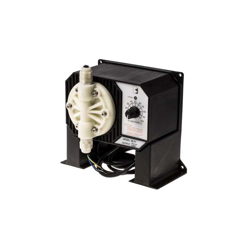 Pompes doseuse industrielle 1.5 L/h à débit réglable, max 1,5 L/h, 13 bar