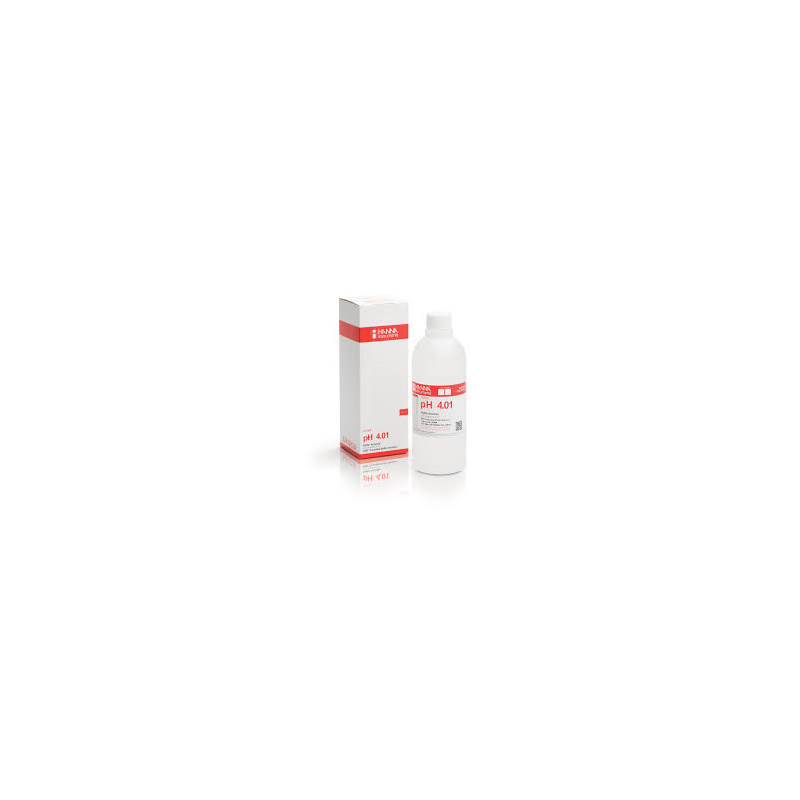Solution tampon pH 4.01 incolore (500 ml)