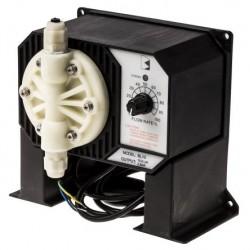 Pompe doseuse industrielle 7,6 L/h à débit réglable, max 7,6 L/h, 3 bar