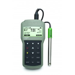 pH-/mV-mètre étanche HI98190 (DIN), 0,001 pH, Calibration Check, port USB
