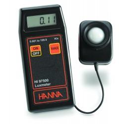 Luxmètre portatif simple HI97500, robuste et rapide