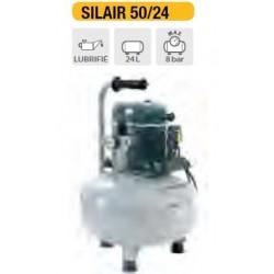 100 m3/h / 8 bar 680W Compresseur air comprimé insonorisé SILAIR 100/24 (AL)*
