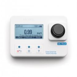 Photomètre chlore libre et total, jusqu\\\'à 5,00 mg/L, livré en mallette