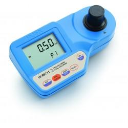 Photomètre chlore libre et total, jusqu'à 5,00 mg/L, livré seul