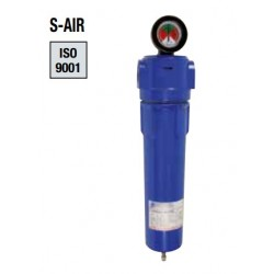 """549 m3/h 1\""""1/2 FILTRE À CARTOUCHE AIR COMPRIMÉ  S-AIR Grade  S / Filtration sub-micronique 0.01µ"""