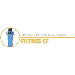 """78 M3/h 1/2"""" Filtre air comprimé CF 008 S / Submicronique"""