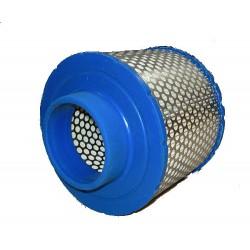 SULLAIR 2250125-371 : filtre air comprimé adaptable