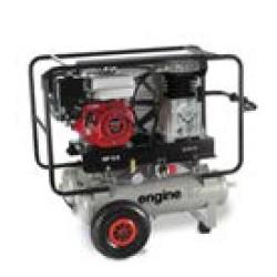ENGINEAIR 5/11+11 ESSENCE - Compresseur thermique ENGINEAIR 5/11+11 ESSENCE - 4,8 CV - Essence - 20,9 m3/h - 10b - 2 x 11 L