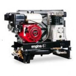 ENGINEAIR 5 ESSENCE - Compresseur thermique ENGINEAIR 5 ESSENCE - 4,8 CV - Essence - 20,9 m3/h - 10b - ChŸssis L