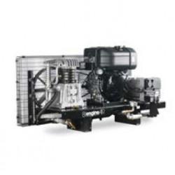BI ENGINEAIR 12 DIESEL 3KvA - Compresseur thermique BI ENGINEAIR 12 DIESEL 3KvA - 12 CV - Diesel - 60 m3/h - 11b - ChŸssis L