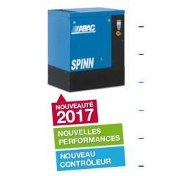 SPINN 08 10 - Compresseur ? vis  SPINN 08 10 - 7,5 CV - 400 V Tri - 38 m3/h - 10b - Sur base