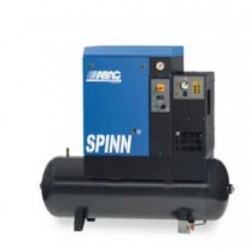 SPINN E 0710 270 - Compresseur ? vis  SPINN E 0710 270 - 7,5 CV - 400 V Tri - 36 m3/h - 10b - 270 L