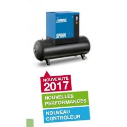 SPINN 1010/500 - Compresseur ? vis  SPINN 1010/500 - 10 CV - 400 V Tri - 55 m3/h - 10b - 500 L