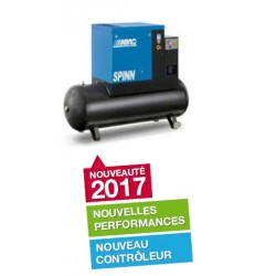 SPINN E 2010/500 - Compresseur ? vis  SPINN E 2010/500 - 20 CV - 400 V Tri - 99 m3/h - 10b - 500 L