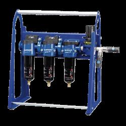 Ensemble de filtration et régulation pour pistolets de peinture à base aqueuse sur portique PREVOST
