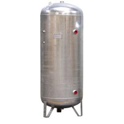 3000l Réservoir air comprimé vertical galvanisé