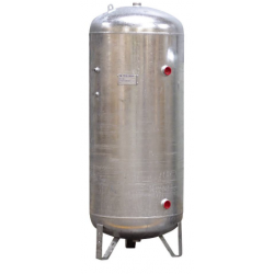 1000l Réservoir air comprimé vertical galvanisé