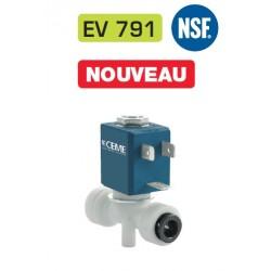 D6mm Électrovanne à raccords instantanés